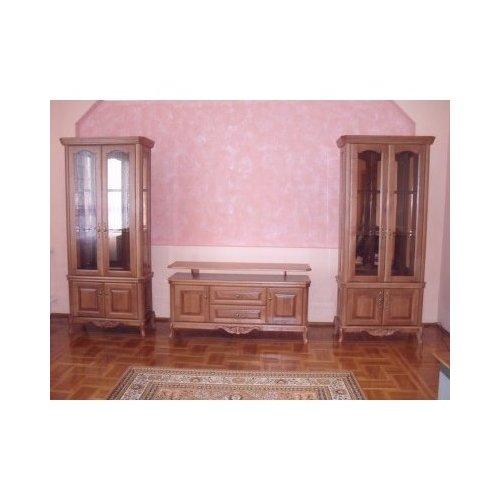 Гостиная с 2-х дверными витринами Венеция Эконит