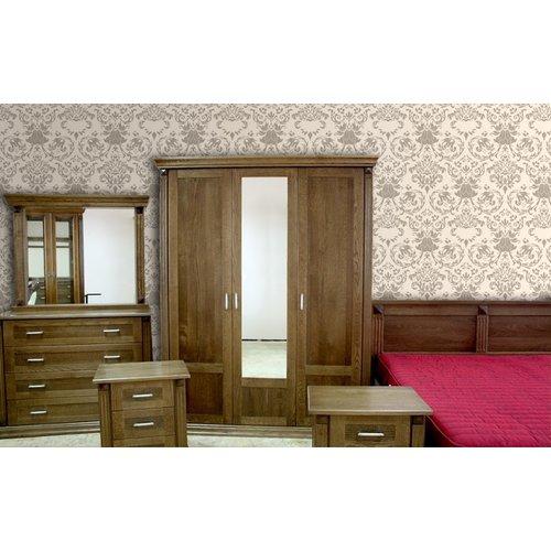 Шкаф 3-ти дверный Квадро