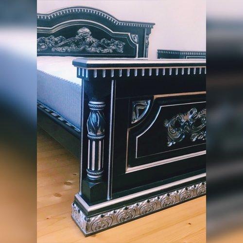 Деревянная кровать Элока-Люкс Эконит