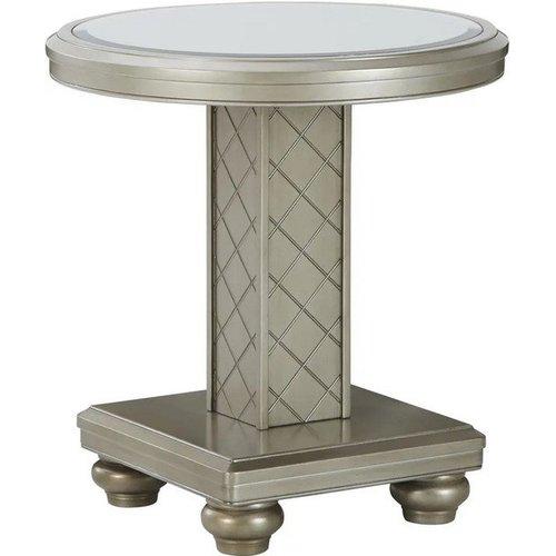 Кофейный столик круглый Chevanna T942-6 Ashley