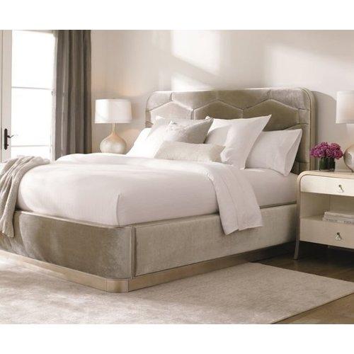 Кровать с мягким изголовьем Модель №26