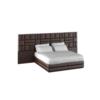 Кровать с мягким изголовьем Модель №7