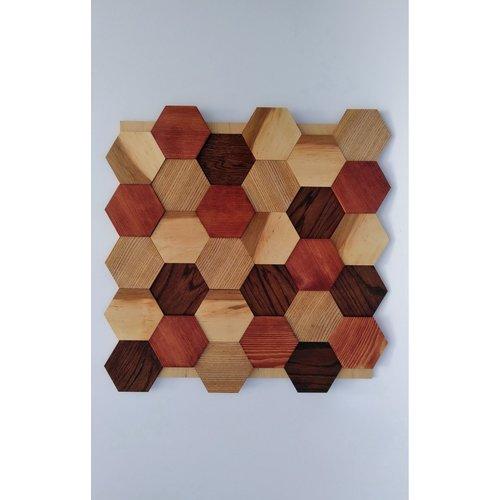 Стеновая панель Wood Ethno Folk Tип 6