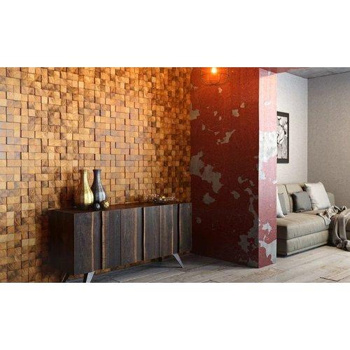 Стеновая панель Wood Blues Tип 1