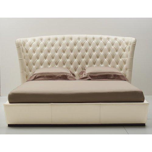 Кровать с мягким изголовьем Модель №8
