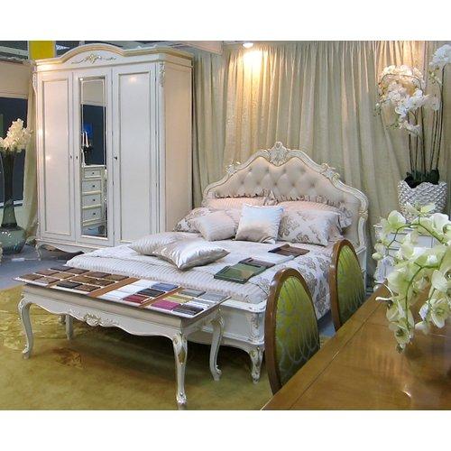 Кровать Palermo 1800 (обивка честер) PA202_2P Monte Cristo Mobili
