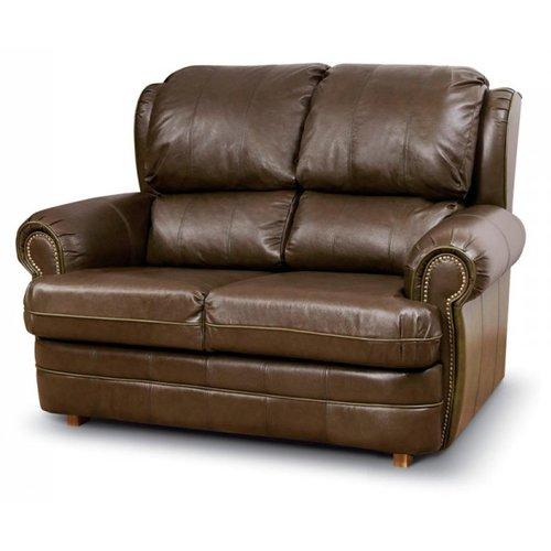 Кожаный диван реклайнер двухместный Kentuky