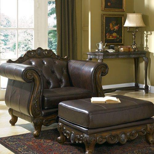 Кресло Weschester-Truffle 5657-1D Ashley