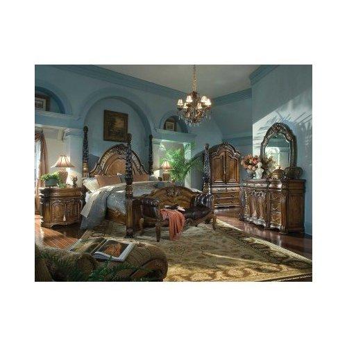 Деревянная кровать OPPULENTE 67010