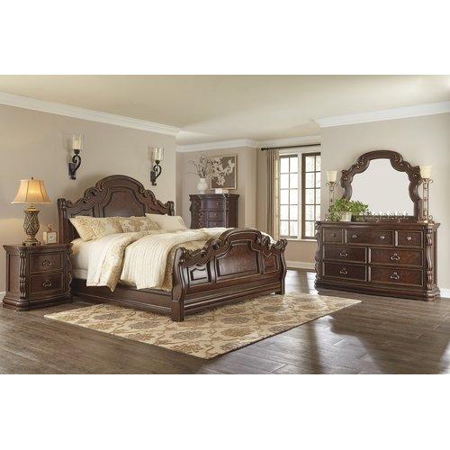 Деревянная кровать Florentown Ashley B715-54-57-96