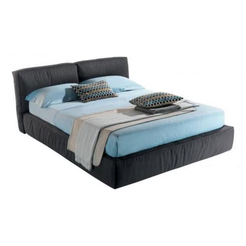 Кровать с мягким изголовьем Лофт