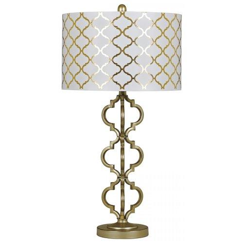 Настольная лампа с абажуром Razailia L213134