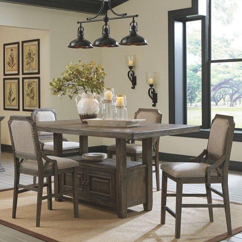Барный стол со стульями Wyndahl D813-32-124 Ashley