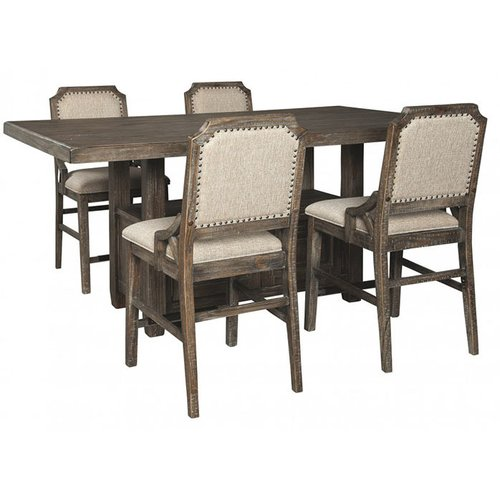Барный стол со стульями Wyndahl D813-32-124